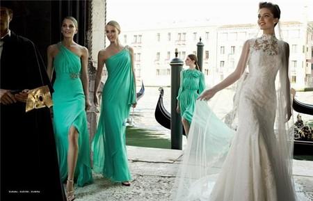 Весенне-летняя коллекция свадебных платьев от Pronovias  2013 — фото 12