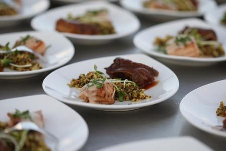 Обедая в небе можно отведать блюда самых известных шеф-поваров