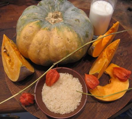 Рецепт диетического блюда: тыквенная каша с рисом и молоком — фото 1