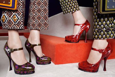 Новые веяния Prada в осеннее-зимней коллекции 2012-2013. Одежда — фото 22