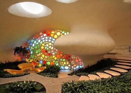 Наутилус - необычный дом-ракушка — фото 7