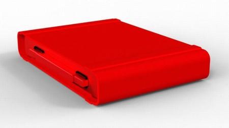 """Стильный красный """"чемоданчик"""""""