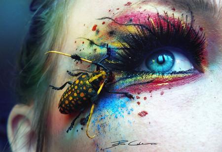 Фантастический макияж от немецкой художницы Свеньи Йодике — фото 8