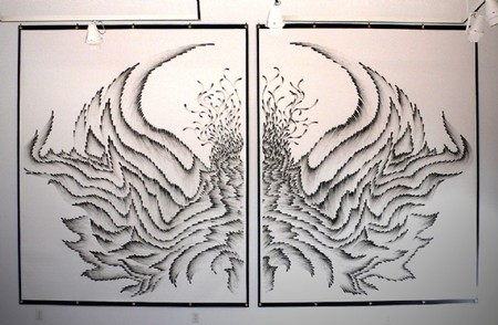 Прикосновение пальцев: серия картин от Джудит Браун — фото 12