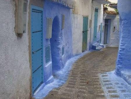 Небесно-голубой город Шауен — фото 34