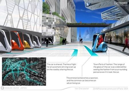 Parsonal Commuter - парижский электромобиль будущего — фото 7