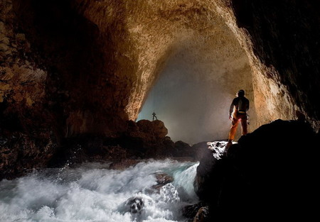 Крубера-Воронья  - самая глубокая карстовая пещера в мире — фото 11