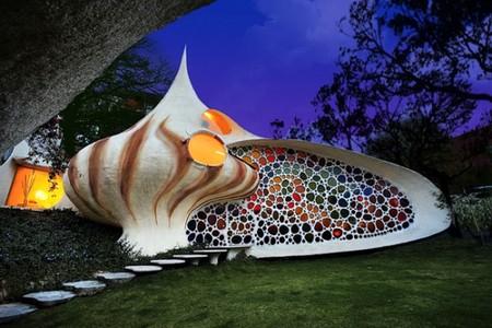 Наутилус - необычный дом-ракушка — фото 1