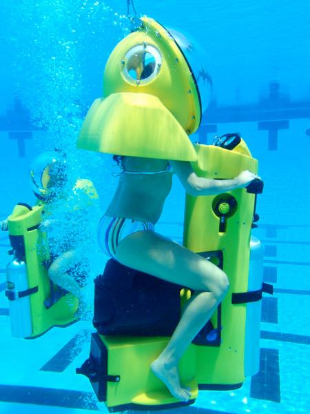 Подводный скутер HydroBOB - новые возможности дайвинга — фото 9