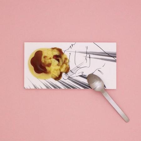 Арт-тарелки от Мики Цутай для любителей суши, посуды и комиксов — фото 7