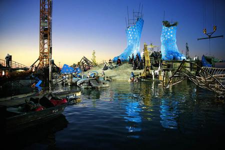 Плавающие сцены на Bregenz Festival в Брегенце — фото 24