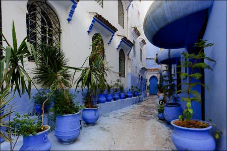 Небесно-голубой город Шауен — фото 19