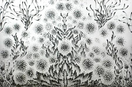 Очень часто в картинах Энн Браун присутсвует симметрия...