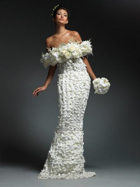 Обзор самых оригинальных идей для свадебного платья — фото 20