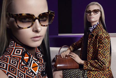 Новые веяния Prada в осеннее-зимней коллекции 2012-2013. Одежда — фото 27