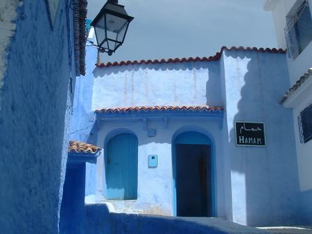 Небесно-голубой город Шауен — фото 33