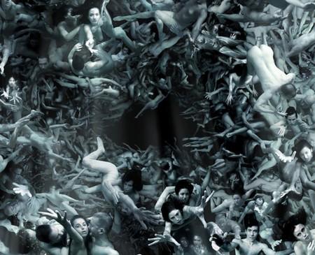 На создание этой мозаики фотограф использовал 200 тыс. реальных людей