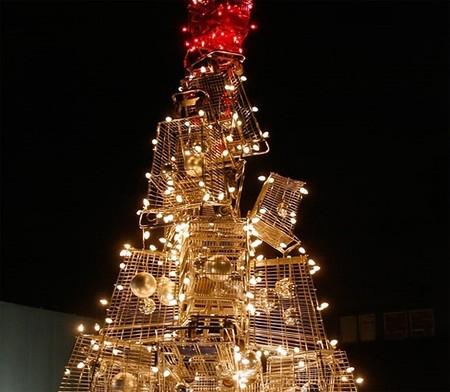 Самые необычные новогодние елки — фото 6