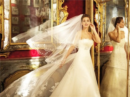 Весенне-летняя коллекция свадебных платьев от Pronovias  2013 — фото 10