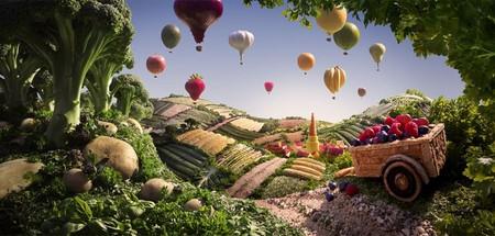 Уникальные пейзажи из еды Карла Уорнера — фото 10