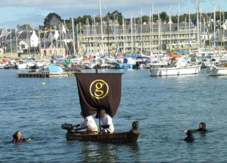 Лодка из шоколада от Джорджа Ларнико — фото 9