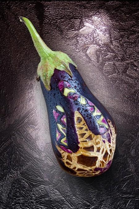 Настоящее овощное произведение искусства )