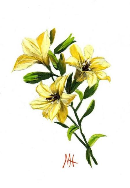 … цветочные натюрморты