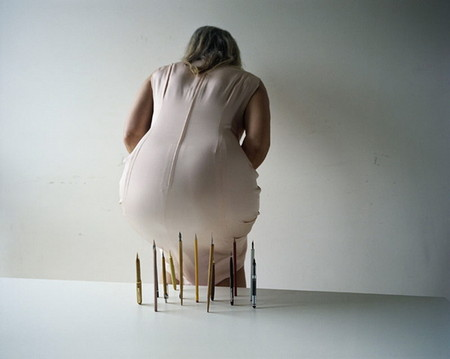 Концептуальные скульптуры Эрвина Вурма — фото 19