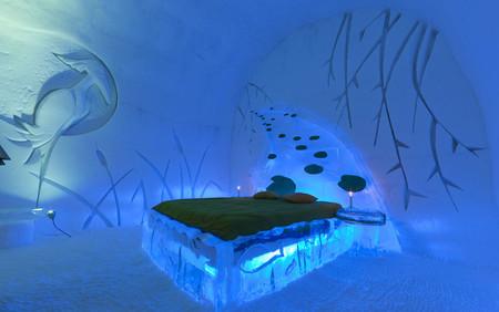 Ледяной отель. Квебек — фото 12