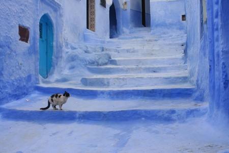 Небесно-голубой город Шауен — фото 18