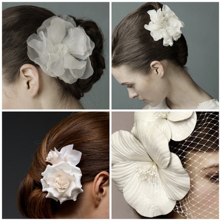 Весенний тренд: цветы в волосах — фото 12