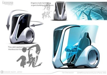 Благодаря огромным окнам электромобиль имеет отличный обзор