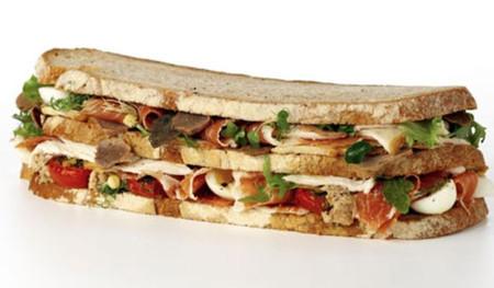 Платиновый клубный сэндвич