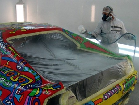 Не обошлось и без помощи специалистов из Автомастерской Ferrari