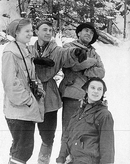 Некоторые из участников трагического похода