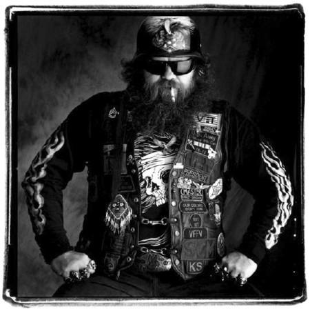 Жизнь на колесах или американские байкеры от Сандро Миллера — фото 14