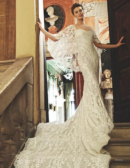 Весенне-летняя коллекция свадебных платьев от Pronovias  2013 — фото 19