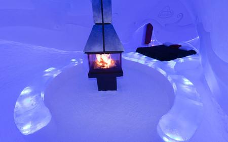 Ледяной отель. Квебек — фото 10
