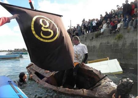 Лодка из шоколада от Джорджа Ларнико — фото 11