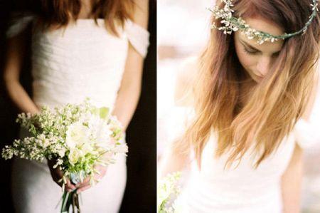 Весенний тренд: цветы в волосах — фото 27