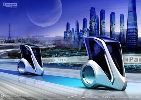 Возможно где-то в 2046 году нашему взору откроется такой парижский пейзаж