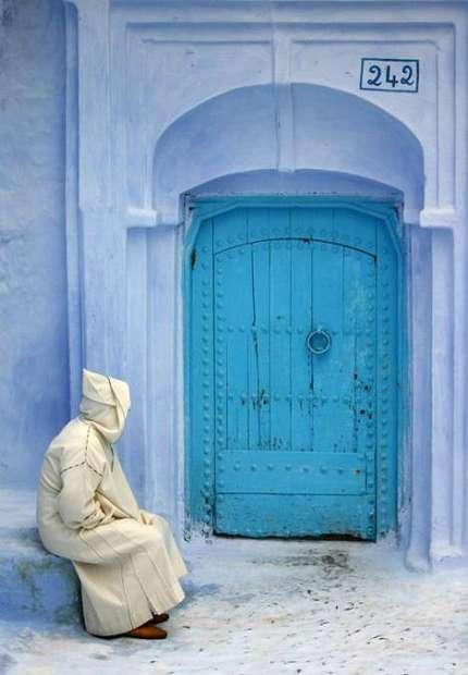Небесно-голубой город Шауен — фото 35