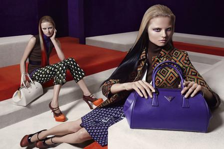 Новые веяния Prada в осеннее-зимней коллекции 2012-2013. Одежда — фото 4