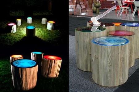 Пеньки-светильники от Джадсона Бомонта — фото 8