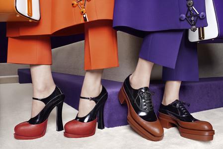 Новые веяния Prada в осеннее-зимней коллекции 2012-2013. Одежда — фото 16