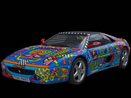 Оновленная Ferrari 355 GTS )