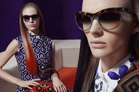 Новые веяния Prada в осеннее-зимней коллекции 2012-2013. Одежда — фото 26