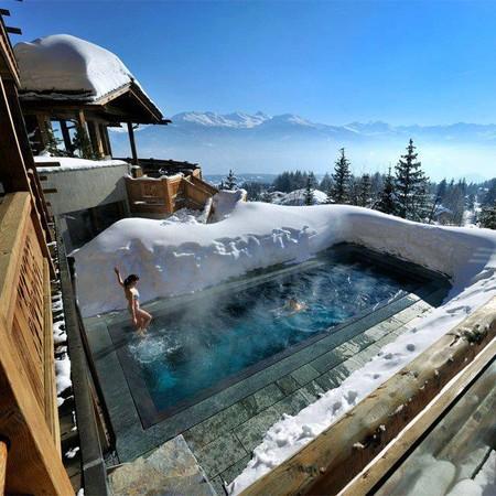 LeCrans Hotel в Швейцарии