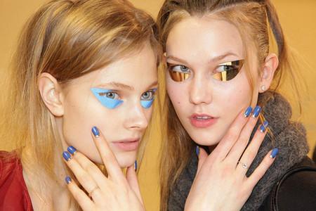 Модный макияж глаз в весенне-летнем сезоне 2012 — фото 30