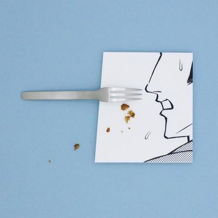 Арт-тарелки от Мики Цутай для любителей суши, посуды и комиксов — фото 5
